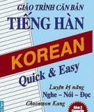 Giáo trình căn bản Tiếng Hàn - Lê Huy Khoa