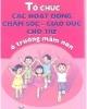 Ebook Tổ chức các hoạt động chăm sóc-giáo dục cho trẻ ở trường mầm non - NXB Giáo dục