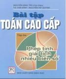 Ebook Bài tập Toán cao cấp Tập 3: Phép giải tích nhiều biến số - Nguyễn Đình Trí (chủ biên)