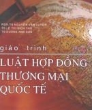 Giáo trình Luật hợp đồng thương mại quốc tế - ĐH Quốc gia TP Hồ Chí Minh