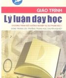 Giáo trình Lý luận dạy học - NXB Hà Nội