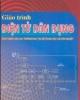 Giáo trình Điện tử dân dụng - Nguyễn Thanh Trà, Thái Vĩnh Hiển