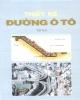 Giáo trình Thiết kế đường ô tô: Tập 2 - Dương Ngọc Hải, Nguyễn Xuân Trục