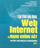 Ebook Lập trình web Internet và mạng không dây (tập 2) - NXB Khoa học Kỹ thuật