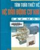 Ebook Tính toán thiết kế Hệ thống dẫn động cơ khí: Tập 1 - NXBGD