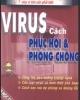 Ebook Virus, cách phục hồi và phòng chống - NXB Thống kê