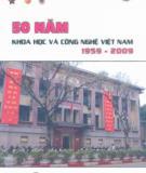 Ebook 50 năm Khoa học và Công nghệ Việt Nam (1959 - 2009): Phần 1 - NXB Khoa học và kỹ thuật