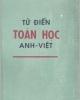 Từ điển Toán học Anh-Việt - NXB Khoa học & Kỹ thuật