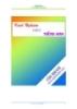 Ebook Các kinh nghiệm học Tiếng Anh