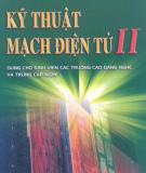 Giáo trình Kỹ thuật mạch điện tử II: Phần 1 - TS. Nguyễn Viết Nguyên (chủ biên)