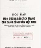 Giáo trình Hỏi-đáp môn Đường lối cách mạng của Đảng cộng sản Việt Nam - TS. Bùi Kim Đỉnh