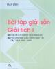 Ebook Bài tập giải sẵn giải tích I : Phần 1 - Trần Bình