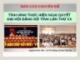 Báo cáo chuyên đề: Tình hình thực hiện Nghị quyết Đại hội Đảng bộ tỉnh lần thứ XX - Nguyễn Đức Hải