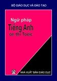 Ebook Ngữ pháp Tiếng Anh ôn thi TOEIC - NXB Giáo Dục