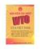 Ebook Văn kiện gia nhập WTO của Việt Nam - NXB Lao động - Xã hội