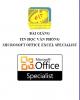 Bài giảng Tin học văn phòng Microsoft Office Excel Specialist - ĐH Hàng hải