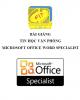 Bài giảng Tin học văn phòng: Microsoft Office Word Specialist - ĐH Hàng hải