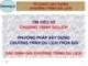 Bài giảng Nghiệp vụ kinh doanh lữ hành: Chương 3 - GV. Nguyễn Hoài Nhân