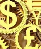Bài giảng Lý thuyết tài chính – tiền tệ: Phần 1