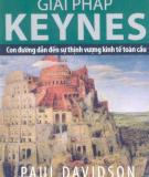 Ebook Giải pháp Keynes: Phần 1 - Paul Davidson