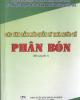 Ebook Các văn bản mới quản lý nhà nước về phân bón: Phần 1 - NXB Nông nghiệp