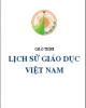 Giáo trình Lịch sử giáo dục Việt Nam - ĐH Đà Lạt