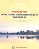 Ebook Định mức dự toán duy trì, sửa chữa hệ thống thoát nước đô thị Thành phố Hà Nội: Phần 2 - NXB Xây dựng