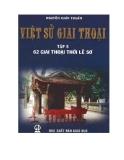 Ebook Việt sử giai thoại: Tập 5 (62 giai thoại thời Lê Sơ) - Nguyễn Khắc Thuần
