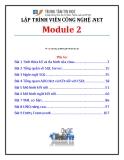 Giáo trình Lập trình viên công nghệ .net (Module 2) - Trung tâm tin học ĐH KHTN