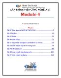 Giáo trình Lập trình viên công nghệ .net (Module 4) - Trung tâm tin học ĐH KHTN
