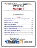 Giáo trình Lập trình iSO (Module 1) - Trung tâm tin học ĐH KHTN