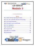 Giáo trình Lập trình iSO (Module 3) - Trung tâm tin học ĐH KHTN