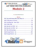 Giáo trình Lập trình viên công nghệ Java (Module 2) - Trung tâm tin học ĐH KHTN