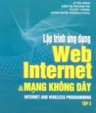 Ebook Lập trình ứng dụng web internet và mạng không dây: Tập 2 - NXB Khoa học và Kỹ thuật Hà Nội
