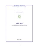 Ebook Trắc địa: Phần 1 -  TS. Đàm Xuân Hoàn