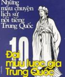 Ebook 10 Đại Mưu Lược Gia Trung Quốc - Tang Du (chủ biên)