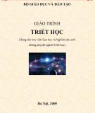 Giáo trình Triết học: Phần 1
