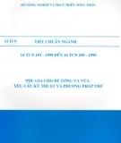 Ebook Tiêu chuẩn ngành 14 TCN 103 - 1999 đến 14 TCN 109 - 1999 - Bộ Nông nghiệp và Phát triển nông thôn