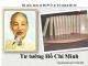 Bài giảng Tư tưởng Hồ Chí Minh: Chương V - Lê Văn Bát