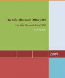 Giáo trình Tìm hiểu Microsoft Excel 2007 - Lê Văn Hiếu