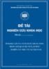 Đề tài khoa học: Tính độc lập của ngân hàng trung ương trong mối quan hệ với lạm phát - nghiên cứu thực tế tại Việt Nam