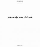 100 bài tập Kinh tế vĩ mô: Phần 1 - Vũ Kim Dũng