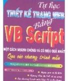 Tự học Thiết kế trang Web bằng VBScript - Đậu Quang Tuấn