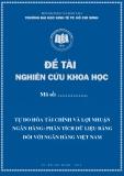Đề tài khoa học: Tự do hóa tài chính và lợi nhuận ngân hàng-phân tích dữ liệu bảng đối với ngân hàng Việt Nam