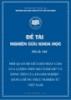 Đề tài khoa học: Mối quan hệ giữa độ nhạy cảm của lượng tiền mặt nắm giữ và dòng tiền của doanh nghiệp – bằng chứng thực nghiệm từ Việt Nam