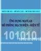 Ứng dụng Matlab mô phỏng mạch điện, điện tử - Nhiều tác giả