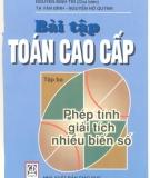 Ebook Bài tập Toán cao cấp (Tập 3) - NXB Giáo dục