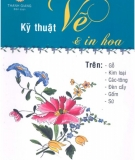 Ebook Kỹ thuật vẽ và in hoa - NXB Tổng hợp TP.HCM