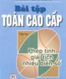 Ebook Bài tập Toán cao cấp: Tập 3 - NXB Giáo dục