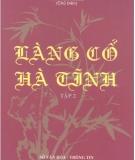 Ebook Làng cổ Hà Tĩnh (Tập 2) - Thái Kim Đỉnh